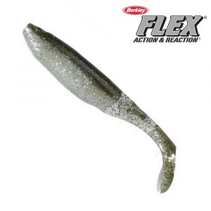 Berkley Flex Cutt Shad 2 3 4´´ Green Back
