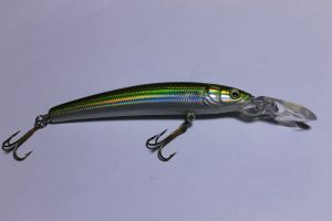 Jive 9,5cmGreen Minnow