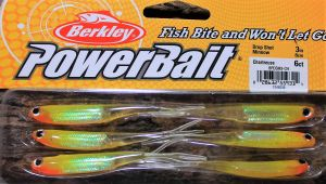 Berkley Drop Shot Minnow 3``Chartreuse