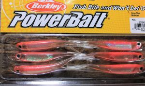 Berkley Drop Shot Minnow 3`` Pink