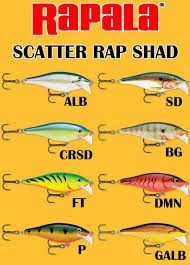 Rapala Scatter Rap Shad 7cm