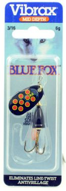 Blue Fox Vibrax HOT PEPPER 4 BYR